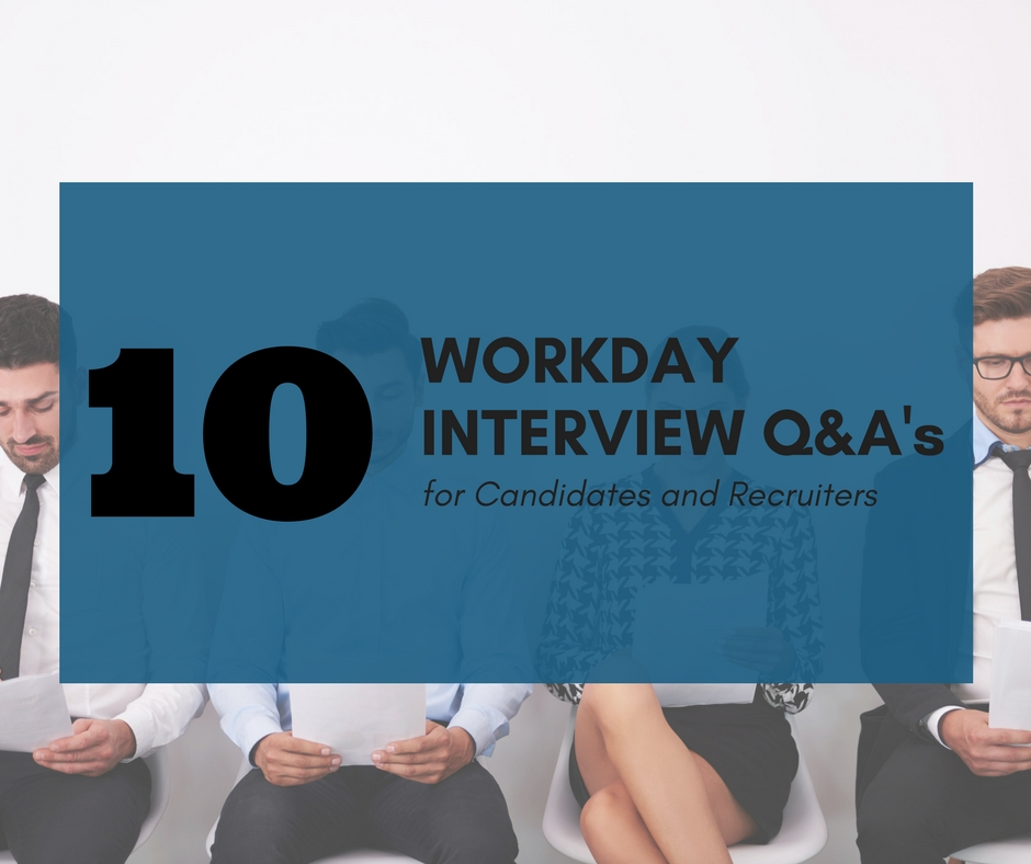 10 Basic Workday Interview Questions for Candidates and Recruiters Image